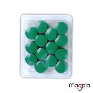 칼라원형자석(대)32mm*녹색