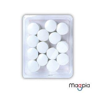 칼라원형자석(대)32mm*흰색