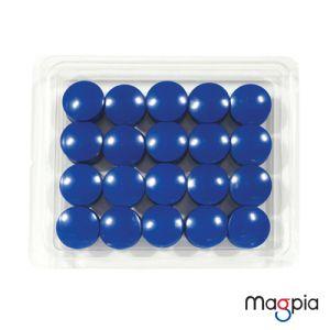 칼라원형자석(중)27mm*파랑