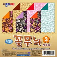 1000꽃무늬 색종이3 *(덩쿨)