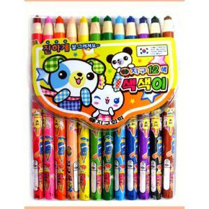 4000(지구)색색이색연필12색