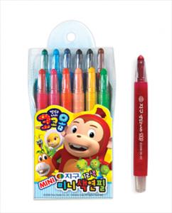 코코몽(12색)미니색연필
