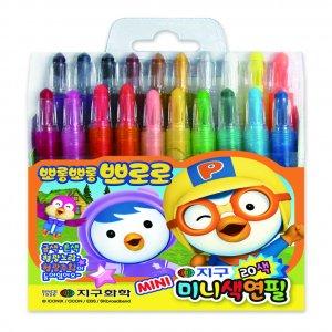 뽀로로 미니색연필(20색)