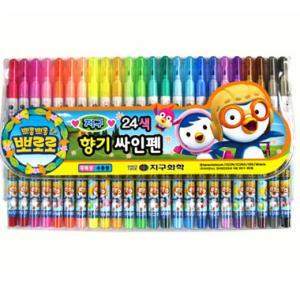뽀로로 향기싸인펜*24색