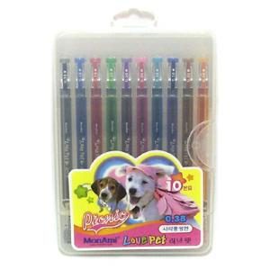 5000러브펫중성펜(10색)