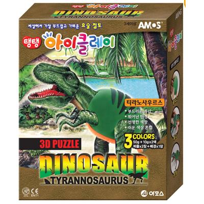 3D 공룡시리즈 점토(티라노사우르스)