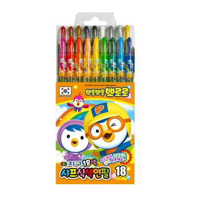 뽀로로 샤프식색연필(18색)