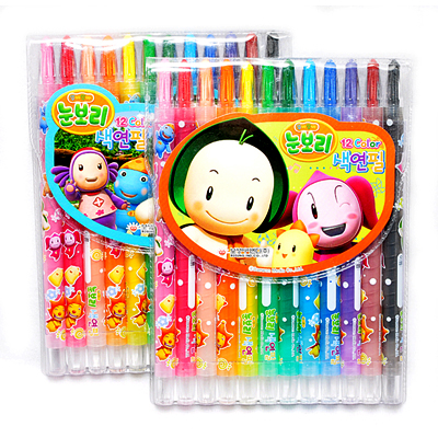 눈보리 색연필(12색)
