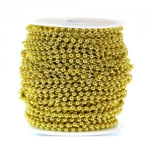 체인구슬8005(금색)
