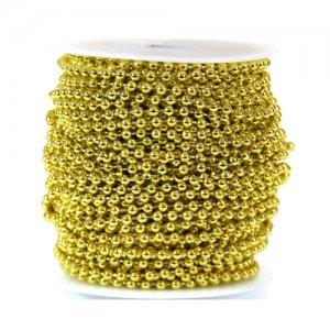 체인구슬8003(금색)