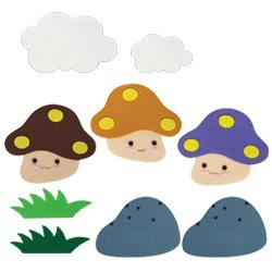 환경꾸미기소품-버섯(소)
