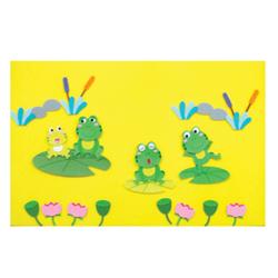 환경꾸미기펠트(대)-개구리연못