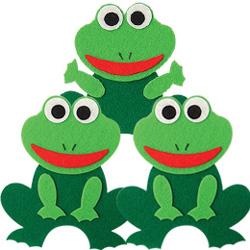 펠트소품-개구리
