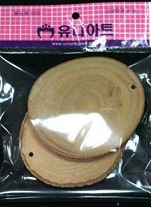 천연나무조각 17 원 7.5~8.5cm