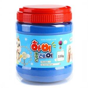 550g 하비클레이 점토/파랑/빨강