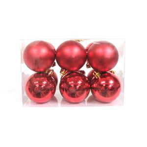 크리스마스트리 장식 파스텔볼 레드(Red)