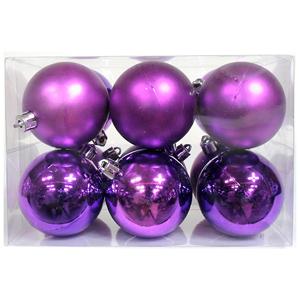 크리스마스트리 장식 파스텔볼 퍼플(Purple)