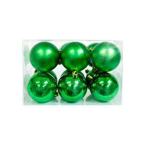 크리스마스트리 장식 파스텔볼 그린(Green)