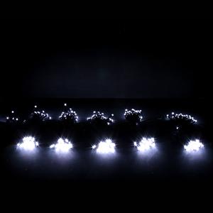 크리스마스트리 장식 전구 LED5조 흑색선 투명