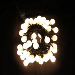 LED앵두전구50P(녹선웜)