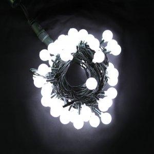 LED앵두전구50P(녹선투명)