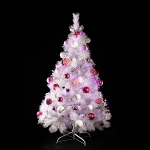 화이트 트리 B 150cm(프리미엄)-핑크