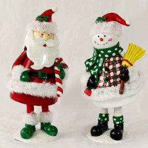 아이클레이 산타,눈사람