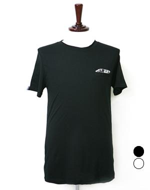 호피행거칩 라운드T_ 2color(블랙,화이트)