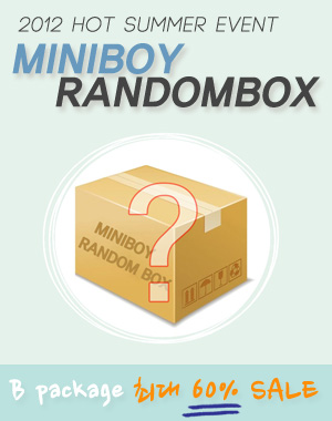 미니보이 랜덤박스_B package