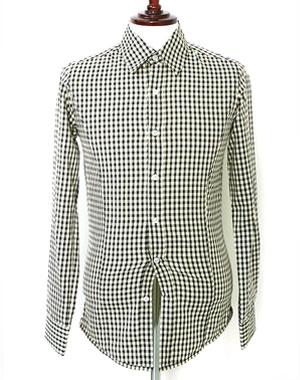 가벼운소재감 깅엄체크 셔츠