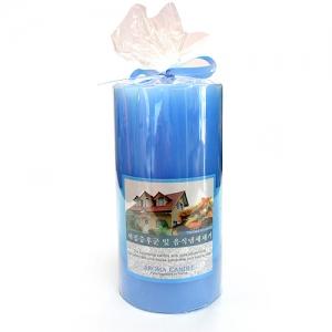아로마 기능성 필라 향초(새집증후군 및 음식냄새 제거용)