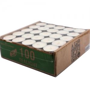 벨리타 식물성팜유 티라이트양초 - 무향 100pcs