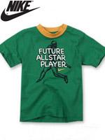 NIKE KIDS 나이키 키즈 반팔 라운드 티셔츠 - 그린 (667915-048)