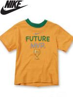 NIKE KIDS 나이키 키즈 반팔 라운드 티셔츠 - 옐로우 (667917-149)