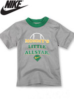 NIKE KIDS 나이키 키즈 반팔 라운드 티셔츠 - 그레이 (667918-043)