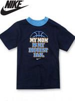 NIKE KIDS 나이키 키즈 반팔 라운드 티셔츠 - 옵시디언 (668171-695)