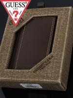 2012년 신상품 Guess 게스 남성 삼단지갑 8124 브라운