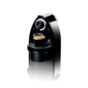 [네스프레소] C100 에센짜 싱글서브 자동 에스프레소 머신 - 피아노 블랙