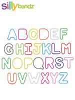 [Silly Bandz] 실리밴드 미국 직수입 정품 칼라 고무줄 장난감 - 알파벳(36p)