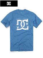 DC 디씨 정품 라운드티셔츠 - 블루