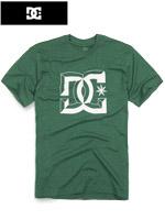 DC 디씨 정품 라운드티셔츠 - 그린