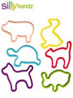 [Silly Bandz] 실리밴드 미국 직수입 정품 칼라 고무줄 장난감 - 애완동물(24p)