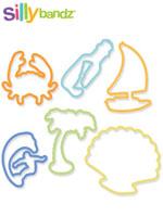 [Silly Bandz] 실리밴드 미국 직수입 정품 칼라 고무줄 장난감 - 해변(24p)