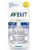 AVENT 필립스 아벤트 젖병전용 젖꼭지 1단계(신생아용)