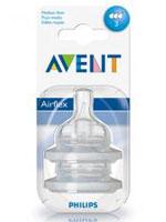 AVENT 필립스 아벤트 젖병전용 젖꼭지 3단계(3~6개월용)