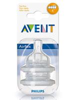 AVENT 필립스 아벤트 젖병전용 젖꼭지 4단계(6개월이상)