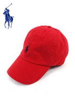 POLO 폴로랄프로렌 정품 스몰포니 캐쥬얼캡 RL2000 - RED (레드)