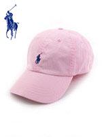 POLO 폴로랄프로렌 정품 스몰포니 캐쥬얼캡 - PINK(핑크)