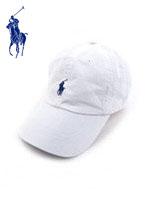 POLO 폴로랄프로렌 정품 스몰포니 캐쥬얼캡 - WHITE(화이트)
