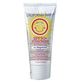 [California Baby] 캘리포니아베이비 21번 무향 SPF30+ 썬스크린로션 민감한 피부용 2.9oz 82.22g